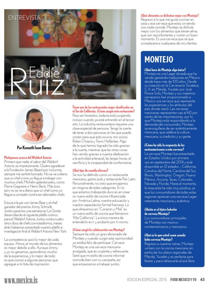 Entrevista Eddie Ruiz